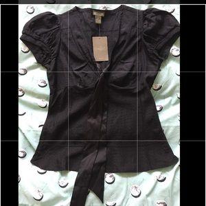 NWT Anthropologie Fei silk shirt